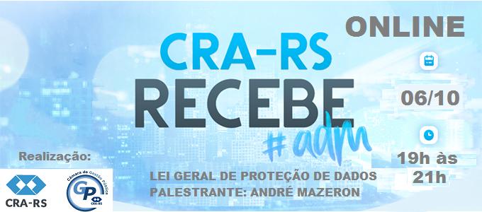 CRA-RS RECEBE ONLINE