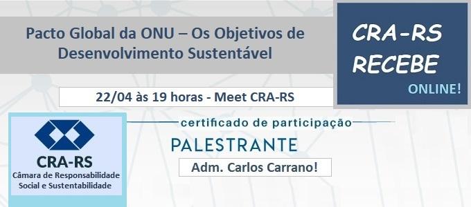 CRA-RS RECEBE